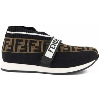 Vintage Kids /brown Logo Trainers boys's Children's Slip-ons (Shoes) in multicolour. Sizes available:2 kid,4 kid,2.5 kid
